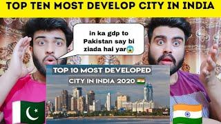Top 10 Most Developed City Of India By GDP Hindi 2020 Shocking Reaction By |Pakistani Bros Reaction|