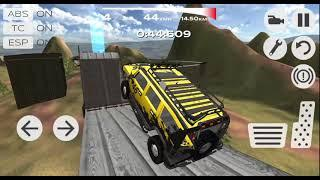 Extreme SUV Driving Simulator Part-2 | Amazing Car Driving Android GamePlay | By Game Crazy