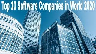 Top 10 Software Companies in World 2020
