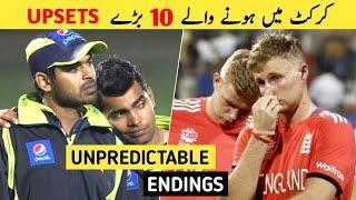 Top 10 biggest upsets in cricket history