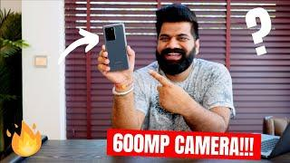 600MP Camera In Smartphone??? Human Eye Vs Smartphone Camera - Samsung Tech