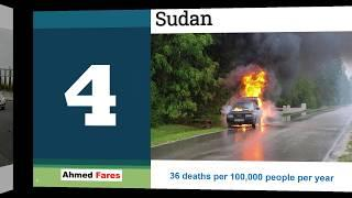 Top Countries with Highest Number of Road Accidents