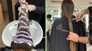 Beautiful Haircuts Transformation | Trending Hairstyles and Hair Color | Women Hair Ideas