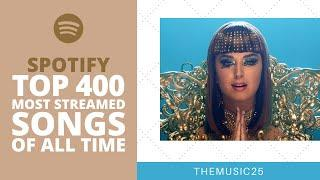 Spotify Top 400 Most Streamed Songs Of All Time [May 2020]