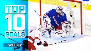 Top 10 Goals from Week 2 of the Stanley Cup Qualifiers | NHL