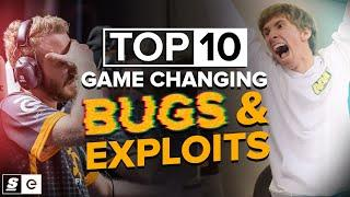 The Top 10 Game-Changing Bugs and Exploits