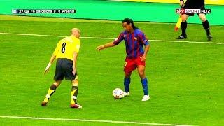 Ronaldinho...The Man Who Taught Lionel Messi Everything He Knows