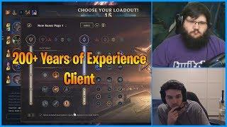200+ Years of Experience Rito Client...LoL Daily Moments Ep 843