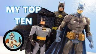 My Top 10 Favorite BATMAN Action Figures! | Jcc2224
