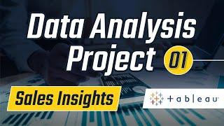Tableau Data Analysis Project: Sales Insights : 1 - Problem Statement