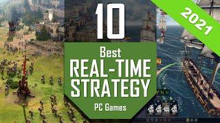 Best RTS Games 2021   TOP10 Real Time Strategy PC Games