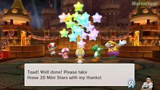 Mario Party 10 Series Map - Toad vs Wario vs Yoshi vs Toadette - Chaos Castle