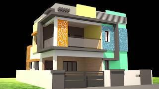 3BHK HOUSE PLAN|3bhk house design 3d|best small house designs in the world