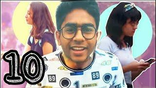 CUTE GIRLS TOP 10 (FUNNY ROASTING VIDEO 2020) NEW BANGLA FUNNY VIDEO || TheTiktike