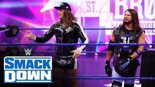 Matt Riddle crashes AJ Styles' Intercontinental Championship party: SmackDown, June 19, 2020