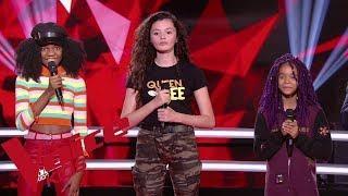 Lorde - Royals  | Lisa VS Nour VS Talima | The Voice Kids France 2019 | Battles