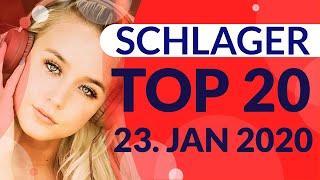 SCHLAGER CHARTS 2020 - Die TOP 20 vom 23. Januar