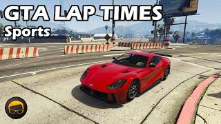 Fastest Sports Cars (2020) - GTA 5 Best Fully Upgraded Cars Lap Time Countdown