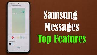 Top 3 Features for Samsung Messages App on your Galaxy (S20, Note 10, S10, etc)