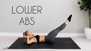 10 min LOWER ABS Workout For BEGINNERS