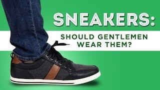 Should Gentlemen Wear Sneakers? - Trainers & Sport Shoes in Classic Menswear