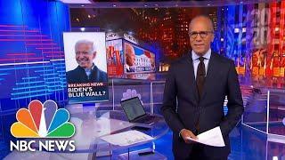 NBC Nightly News Broadcast (Full) - November 4th, 2020 | NBC Nightly News