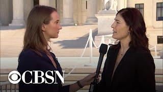 Lawyer challenging abortion law reacts after Supreme Court arguments