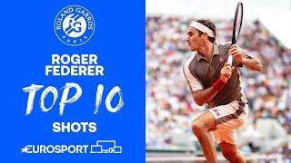 TOP 10 - Roger Federer   Road to Roland-Garros   Tennis   Eurosport