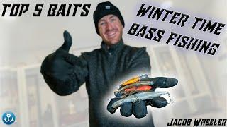 Catch more FISH in the COLD with these Lures (My Top 5 Winter Baits)