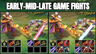 JAX vs MASTER YI EARLY-MID-LATE GAME FIGHTS & Best Moments!