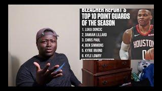 WESTBROOK NOT A TOP 5 POINT GUARD!? RUSSELL WESTBROOK 2019-2020 HIGHLIGHTS REACTION