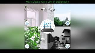 Top 10 【3TB HDD Pre-Install 】 Hiseeu Wireless Security Camera System 8 CH NVR 8Pcs HD 2K Indoor/Out