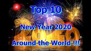 2020 New Year Top 10 - NEW YEAR CELEBRATION AROUND THE WORLD - Corona Style + Official Drink