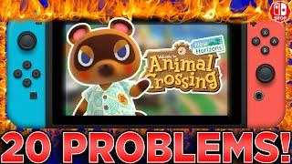20 Things That I DON'T LIKE About Animal Crossing New Horizons!