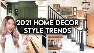 TOP 10 INTERIOR DESIGN + HOME DECOR TRENDS FOR 2021