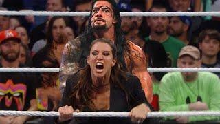 WWE 3 Fabruary 2020 - OMG! Roman Reigns vs Triple H & Stephanie McMahon
