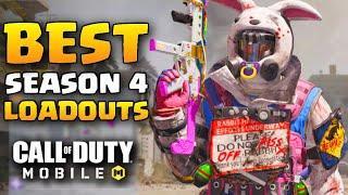 BEST LOADOUTS for Season 4 in Call of Duty Mobile (CoD Mobile loadouts)