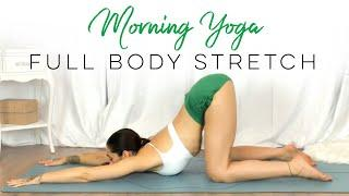 BEST Morning Stretches In Bed! | 10 Minute Morning Yoga Full Body Stretch