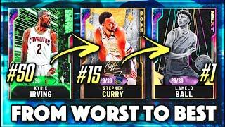 RANKING EVERY GALAXY OPAL POINT GUARD FROM WORST TO BEST IN NBA 2K20 MyTEAM!!