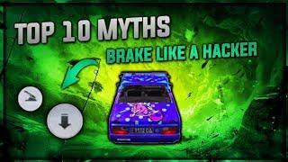 Brake Like A HACKER • Top 10 Myths in PUBG Mobile • Pubg Myths #2