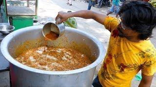 India's Most Popular Biryani Making Center @ Tirupati | Indian Street Food | Street Foodos