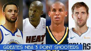 Top 10 NBA 3 Point Shooter