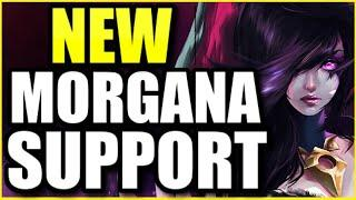 (EVERYTHING BURNS) THIS *NEW* MORGANA SUPPORT BUILD IS THE BEST SO FAR IN SEASON 10! DARK HARVEST