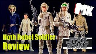 Star Wars The Black Series Rebel Soldier (Hoth) Review