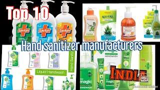 Top 10 hand sanitizer manufacturers in India