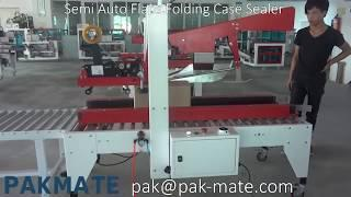 Semi Auto Flaps Folding Case Sealer MC-C50, Carton Sealer Machine