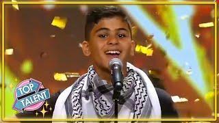 GOLDEN BUZZER | EMOTIONAL Kid Band INSPIRE On Arab's Got Talent | Top Talent