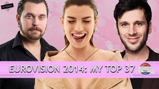EUROVISION 2014: MY TOP 37 // ROAD TO 2000