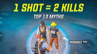1 Shot = 2 Kills   Possible ?   Top 10 Mythbusters in PUBG Mobile   PUBG Myths #42