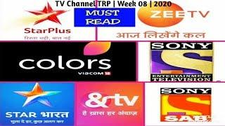 Top 10 TV Channel TRP ( Urban ) | Week 08 | 2020
